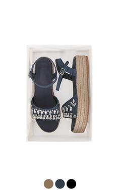 [GOOD PRICE]宝石凉鞋espadrille