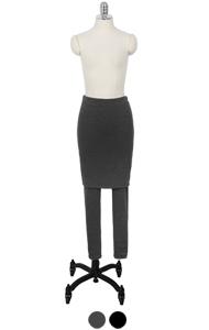superwarm H-裙打底裤<br> (2色)