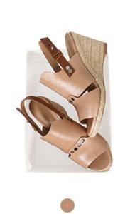 凯特帆布便鞋楔