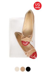 """UTG LIPS芭蕾平底鞋<br> (3色) <br> <font color=#ff9999 size=""""1.9"""" face=verdana>BEST BUY</font>"""