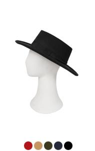 MAISON羊毛毡软呢帽<br> (5种颜色)