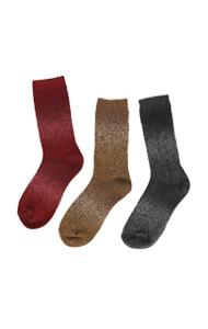 色调上的色调灰度袜子<br> (5种颜色)