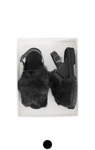 [GOOD PRICE] <br>毛皮滑草鞋#05