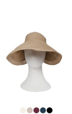 """优雅的亚麻遮阳的帽子<br> <font color=#82C7E4 size=""""1.9"""" face=verdana>添加颜色</font>"""