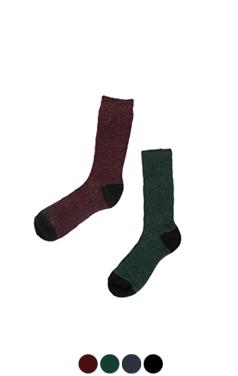 双色袜闪光