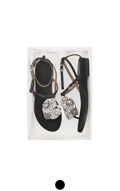 水晶缎embelished凉鞋