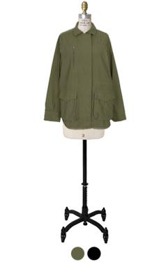 纹理标准米利外套