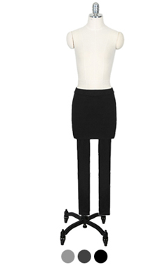 基本裙子打底裤