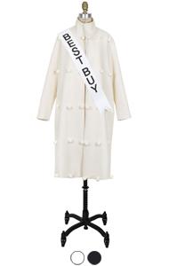 波姆波姆高领外套<br> (2色)