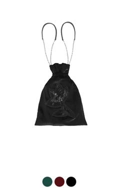 串珠绒布袋袋