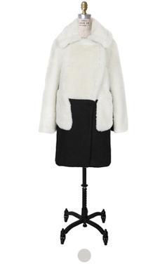 最喜欢的人造羊皮外套(长)