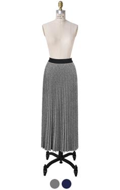 金属制品百褶长裙