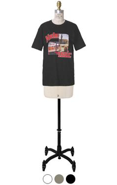 现代经典印花T恤
