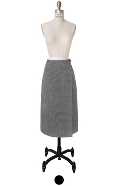 houndtooth H-字裙