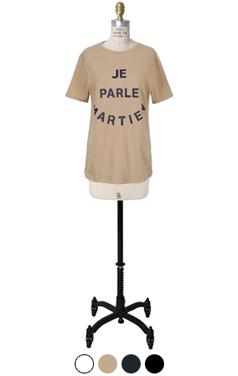 martien印刷T恤