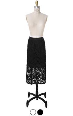 花花边MIDI裙
