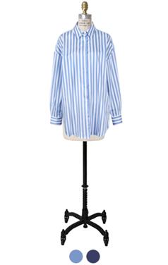 大胆的条纹衬衫