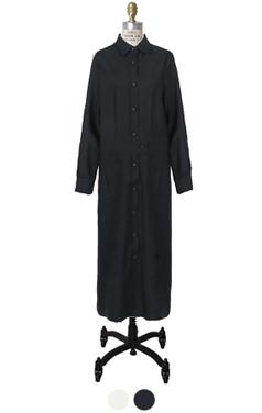 野生动物园外口袋的衬衫连衣裙