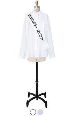 制作精良的衬衫loosefit