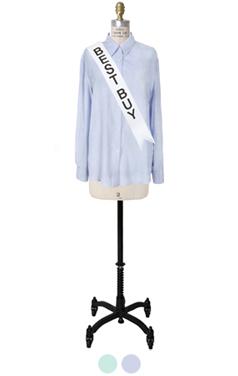 最喜欢的丝混纺衬衫
