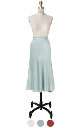 mustbuy缎子裙