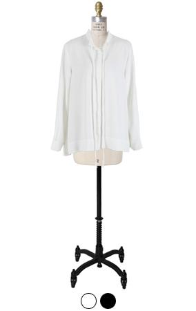 洛朗slimfit领带衬衫