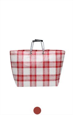 格子手提包