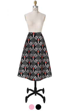 印刷折纸艾琳裙