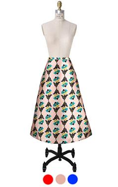 装饰艺术花裙子