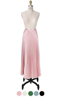 丰富多彩的百褶长裙