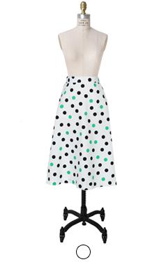 DOT DOT A线裙子