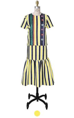 的Miuccia时装条纹2个