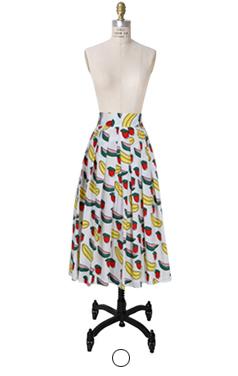 水果印刷fullskirt