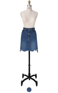 复古牛仔裙
