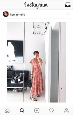 女性格子shirtsdress