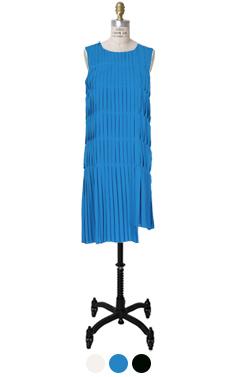 菲利普褶折裙