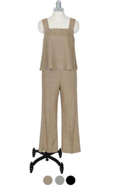 (安可)最喜欢的亚麻裤2件