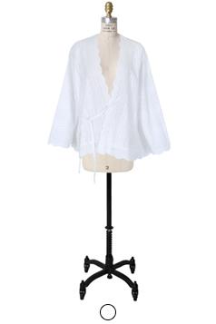 棉花小孔开衫